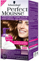 Schwarzkopf Perfect Mousse - 668 Hazelnoot - Haarkleuring