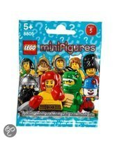 LEGO Minifigures Thekendisplay Serie 5