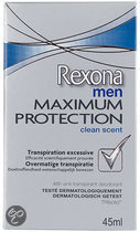 Rexona Men Maximum Clean Scent - 45 ml - Deodorant