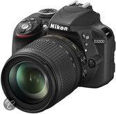 Nikon D3300 + 18-105 mm VR- Spiegelreflexcamera - Zwart