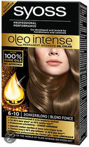 SYOSS Color Oleo Intense 6-10 Donkerblond - Haarkleuring