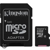64GB microSDXC Class 10 Flash Card Single Pack w/o Adapter