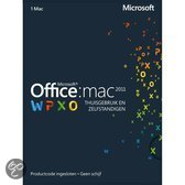 Microsoft Office Mac Home Business 2011 - ProductKey / Nederlands / 1 Licentie /  Eurozone Medialess