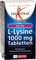 Lucovitaal L-Lysine 1000mg Tabletten - 60 tabletten - Voedingssuplementen
