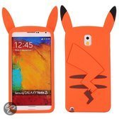 Samsung Note 3 Pikachu Silicone cover, hoesje, case