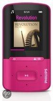 Philips GoGear Vibe - MP4 speler - 4 GB - Roze