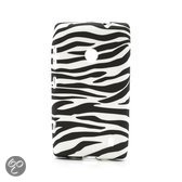 TPU Gel Case Nokia Lumia 520 Zebra