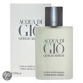 Giorgio Armani Acqua di Gio Aftershave for Men - 100 ml - Aftershavelotion