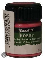 Hobby allesverf fuchsia roze 15 ml