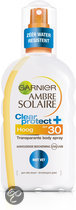 Garnier Ambre Solaire Clear Protect SPF 30 - Zonnebrandspray