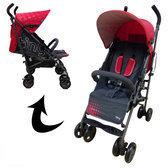 Xadventure Buggy Buggy Tiny Deluxe Red Grey