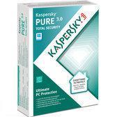 Kaspersky PURE 3.0 - 3 PC's - 1 jaar - Nederlands
