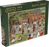 Jumbo Falcon Back to School - Puzzel - 500 stukjes