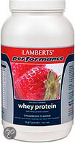 Lamberts Whey Protein Strawberry - 1000 gram - Drinkmaaltijd