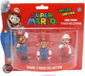 Nintendo Mario : 3 Mini Figuren