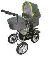 Cruiser 3W combi kinderwagen Grey/Lime