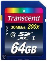 Transcend 64GTB SDXC Class 10 (Premium)