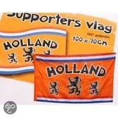 Holland supportersvlag met leeuw 100 x 70 cm
