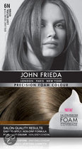 John Frieda Precision Foam Colour 6N Light Natural Brown