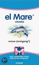 El Mare Visolie Vrouw (Overgang) - 60 Capsules - Voedingssupplement