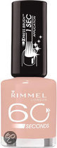 Rimmel 60 Seconds finish - 200 Princess Pink - Roze - Nagellak