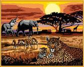 Schilderen op Nummer - Afrikaanse Impressie