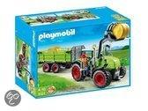 Playmobil Grote Tractor Met Aanhangwagen  - 5121