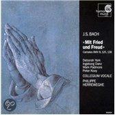 Bach: Mit Fried und Freud - Cantatas / Herreweghe, et al