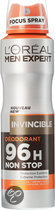 L'Oréal Paris Men Expert - Deo Spray - Invincible