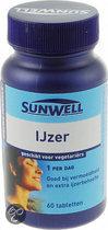 Sunwell Ijzer - 60 Tabletten - Mineralen
