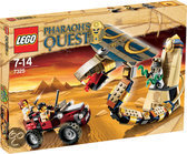 LEGO Pharaoh's Quest Het Vervloekte Cobrastandbeeld - 7325