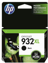 HP 932XL - Inktcartridge Zwart