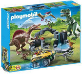 Playmobil Dino expeditie met amphi truck - 5019
