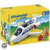 Playmobil 1.2.3. Passagiersvliegtuig - 6780
