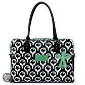 Little Company - Today PopUp Shoulder Bag Square Luiertas - Groen/Zwart