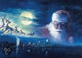 Puzzelman Puzzel: Kerstman In De Wolken