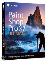 Corel PaintShop Pro X7 (17) Ultimate - Engels / DVD