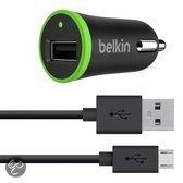 Belkin - Universele autolader met micro USB kabel (5W/1A)
