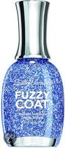 Sally Hansen Fuzzy coat - 400 Tight Knit - Blauw - Nagellak