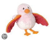 Vogel Birdy no. 2 - Knuffel - Roze