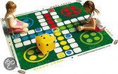Traditional garden games Giant bordspel: mens erger je niet 2 x 2 meter