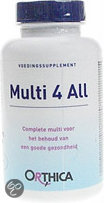 Orthica Multi 4 All - 90 Tabletten - Multivitamine