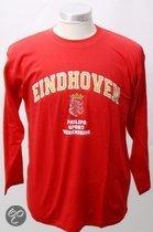 Psv Heren t-shirt longsleeve rood maat m