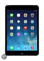 Apple iPad Mini met Retina- display- WiFi + 4G- 16GB Space Grey