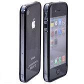 Bumper zwart / transparant voor iPhone 4 / 4S