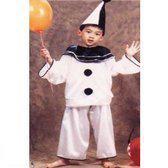 Pierrot - Kostuum - Maat 104