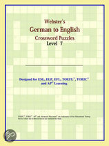 Webster's German To English Crossword Puzzles: Level 7