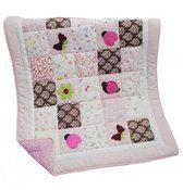 Good Night, Sleep Tight - Dekentje Quilt 108x85 cm - Vlinder
