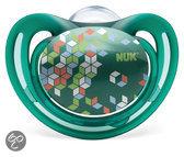NUK Freestyle - Fopspeen m3 - Groen