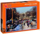 Hollands Glorie IJspret Op De Gracht - Puzzel - 1000 stukjes